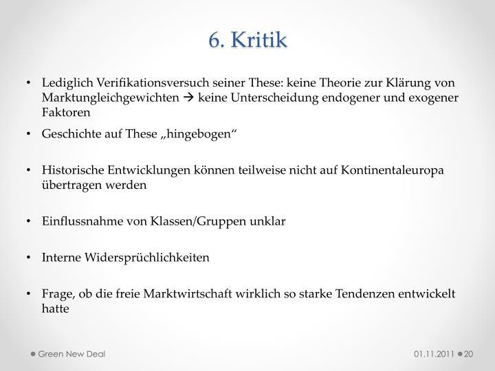 6. Kritik