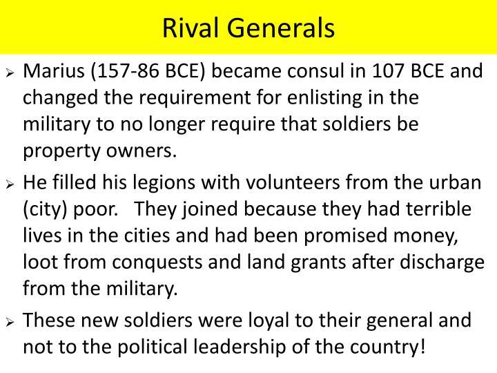 Rival Generals