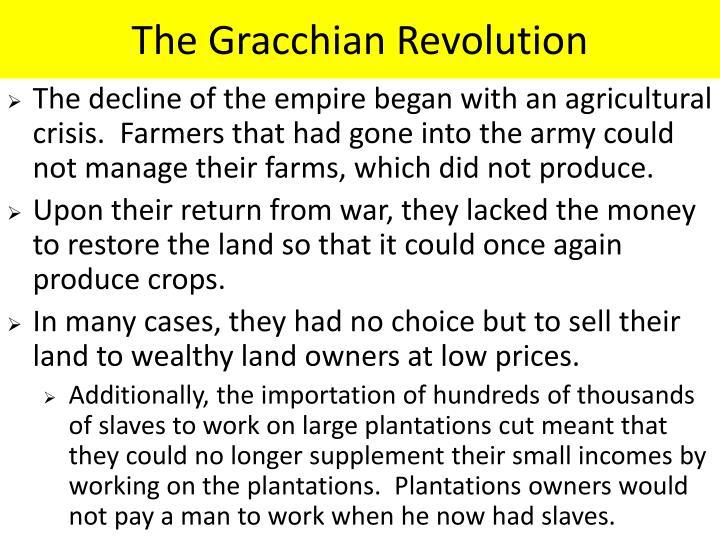 The Gracchian Revolution