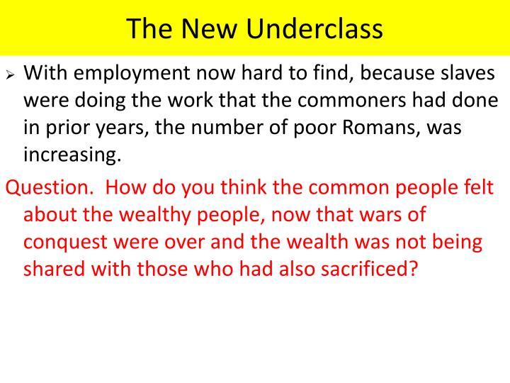 The New Underclass