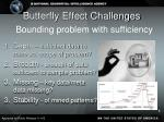 butterfly effect challenges