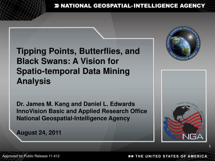 Tipping Points, Butterflies, and Black Swans: A Vision for