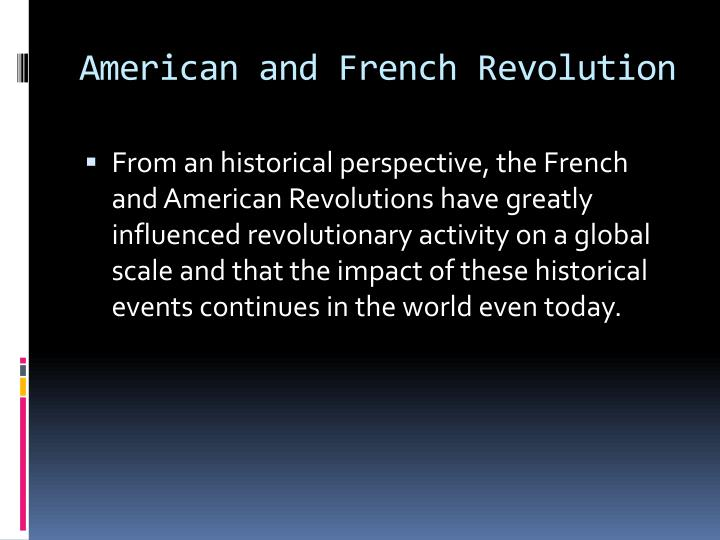 french revolution and american revolution essay