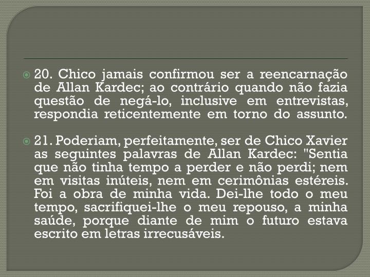 20. Chico
