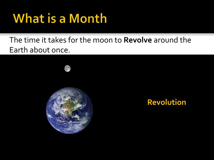 What is a Month