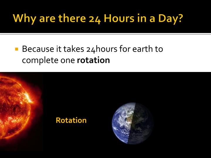 Why are there 24 Hours in a Day?