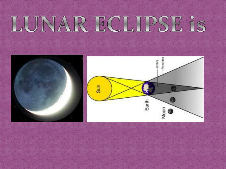 LUNAR ECLIPSE is