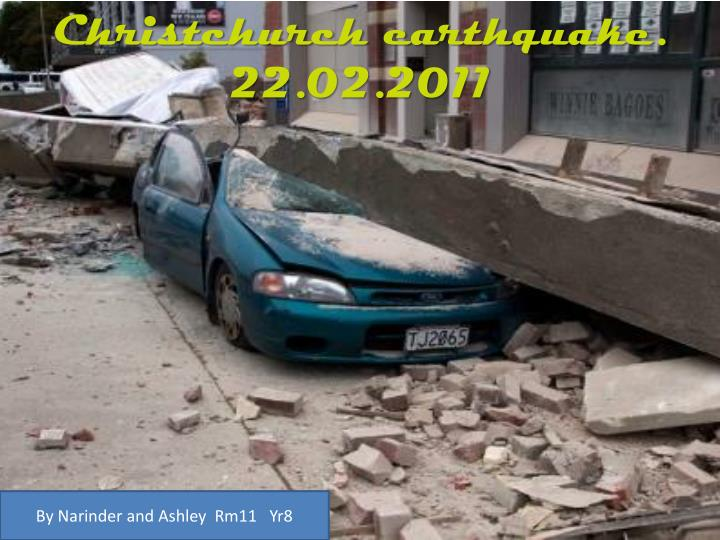 Christchurch earthquake 22 02 2011