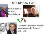 acid base balance1