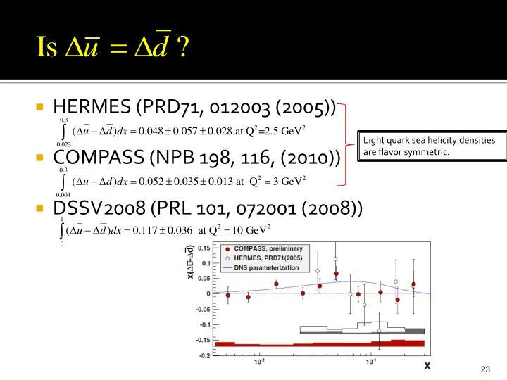 HERMES (PRD71, 012003 (2005))