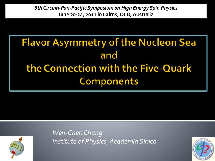 Wen chen chang institute of physics academia sinica