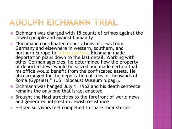 Adolph Eichmann Trial