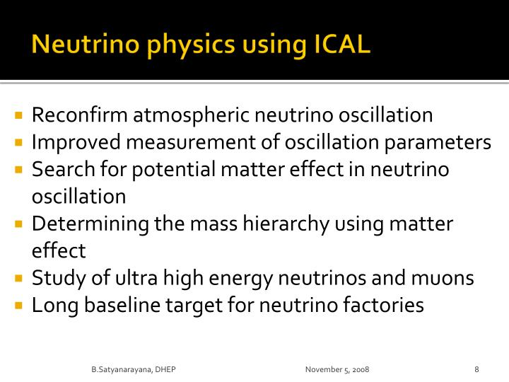 Neutrino physics using ICAL