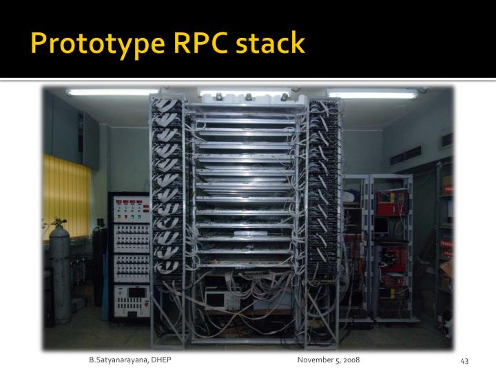 Prototype RPC stack