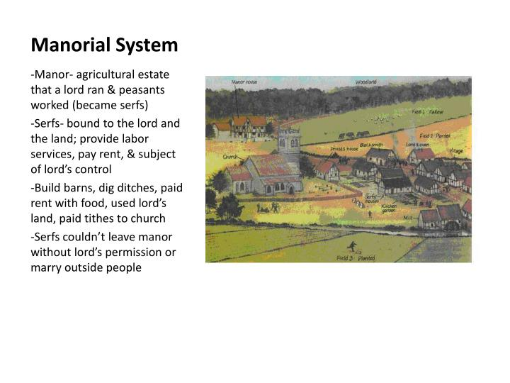 Manorial System