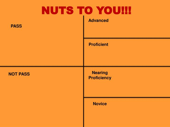 NUTS TO YOU!!!