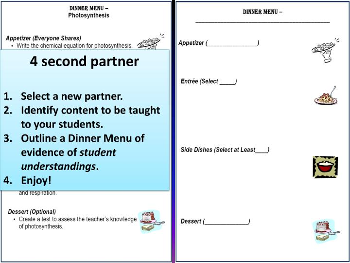 4 second partner