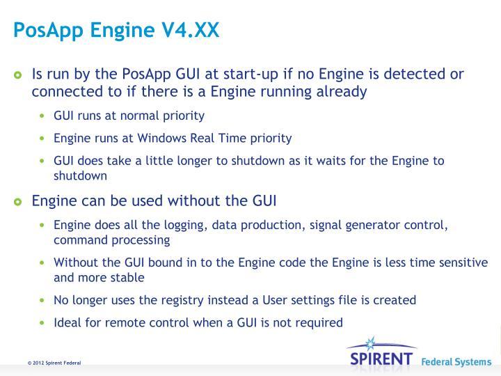 PosApp Engine V4.XX