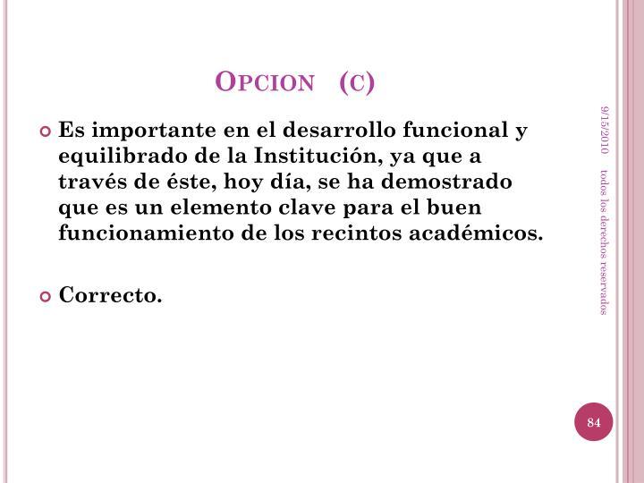 Opcion