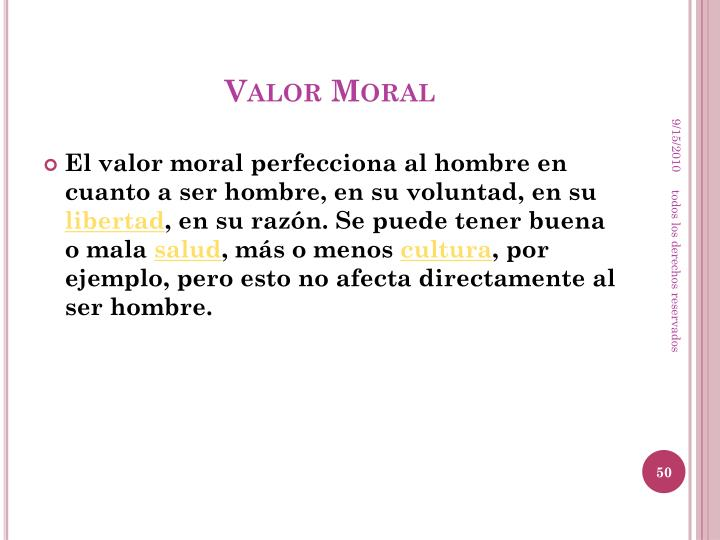 Valor Moral