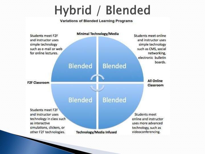 Hybrid / Blended
