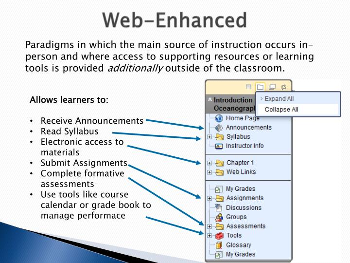 Web-Enhanced