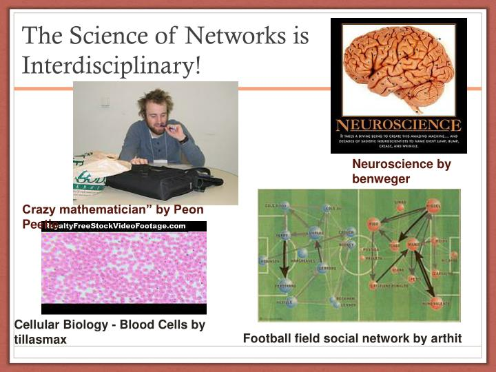 The Science of Networks is Interdisciplinary!