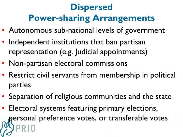 Dispersed