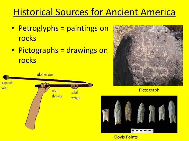 Historical sources for ancient america