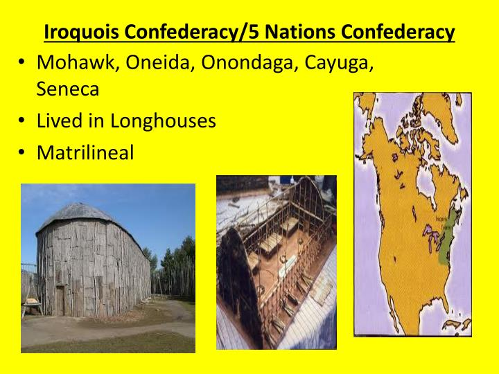 Iroquois Confederacy/5 Nations Confederacy