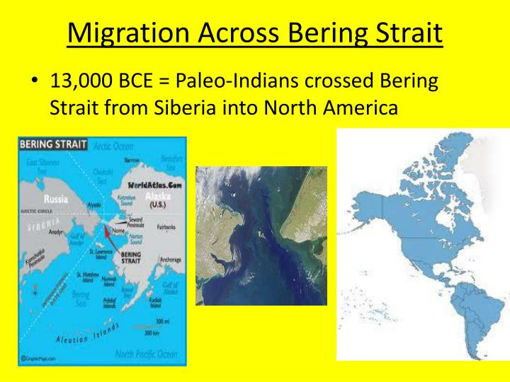Migration Across Bering Strait