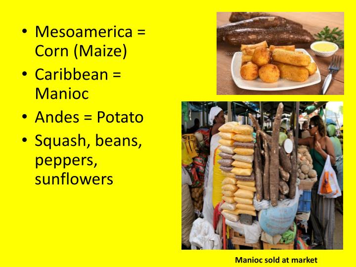 Mesoamerica = Corn (Maize)