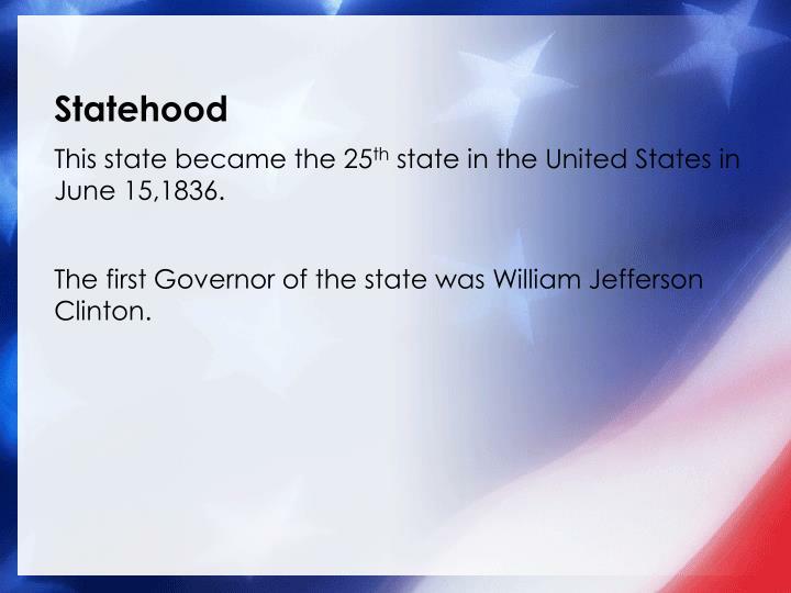 Statehood