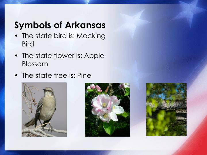 Symbols of arkansas