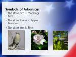 symbols of arkansas