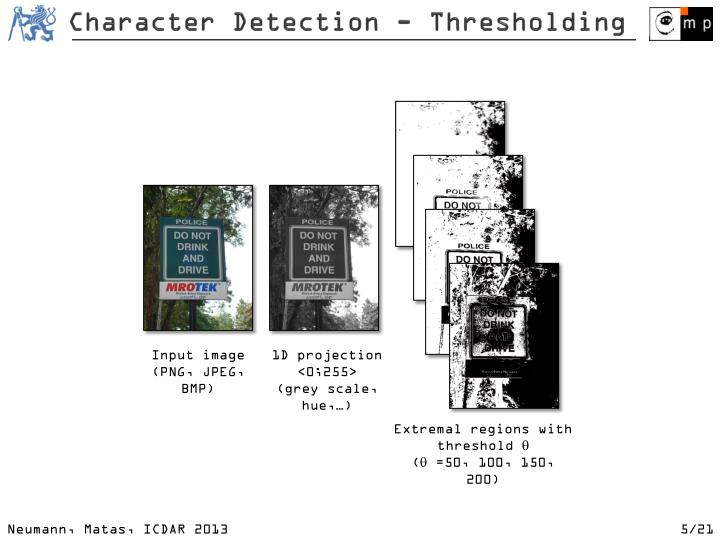 Character Detection -