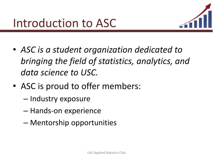 Introduction to ASC