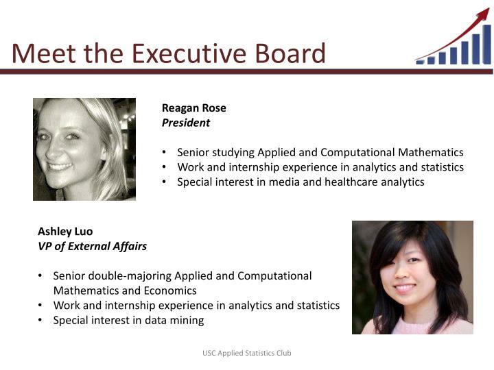 Meet the Executive Board