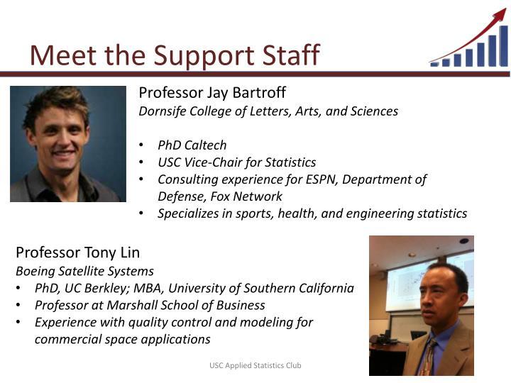 Meet the Support Staff