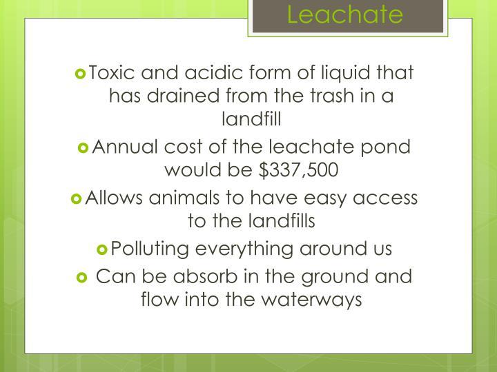 Leachate
