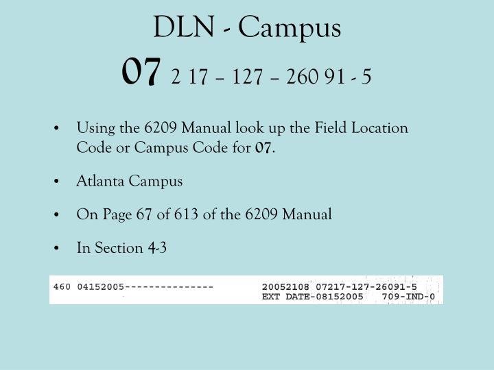 DLN - Campus