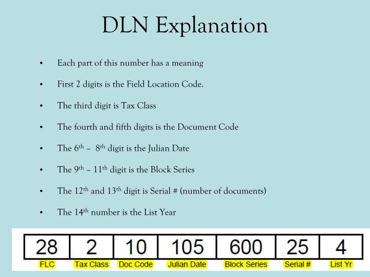 DLN Explanation