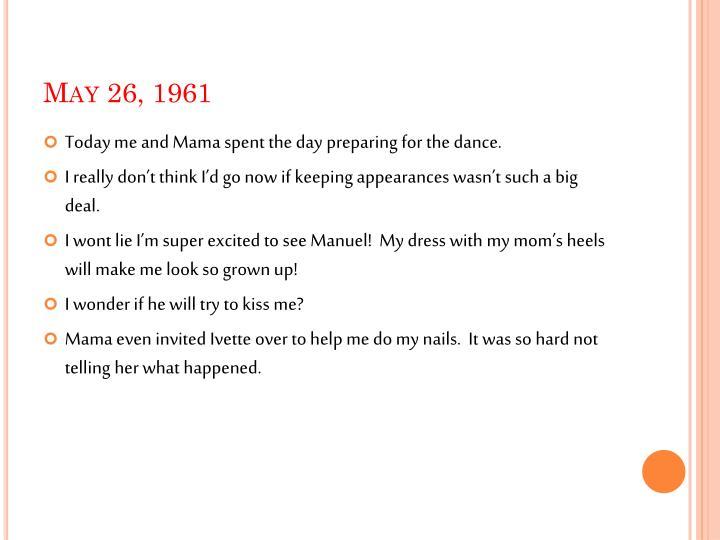 May 26, 1961