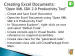 creating excel documents open xml sdk 2 0 productivity tool1