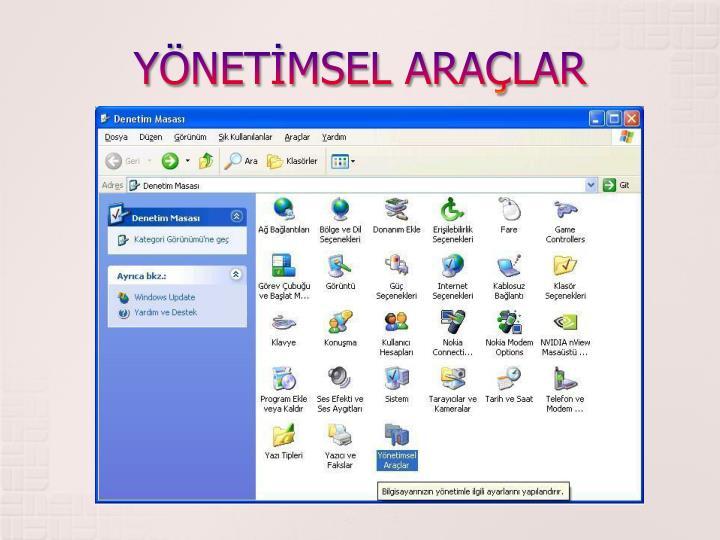 YNETMSEL ARALAR