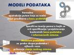 modeli podataka