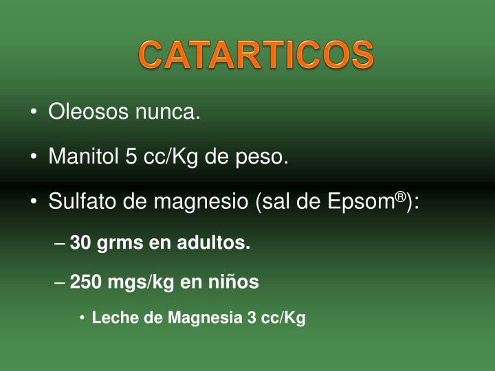 CATARTICOS
