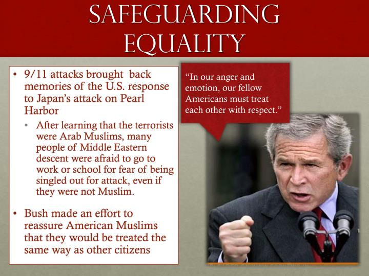 Safeguarding Equality