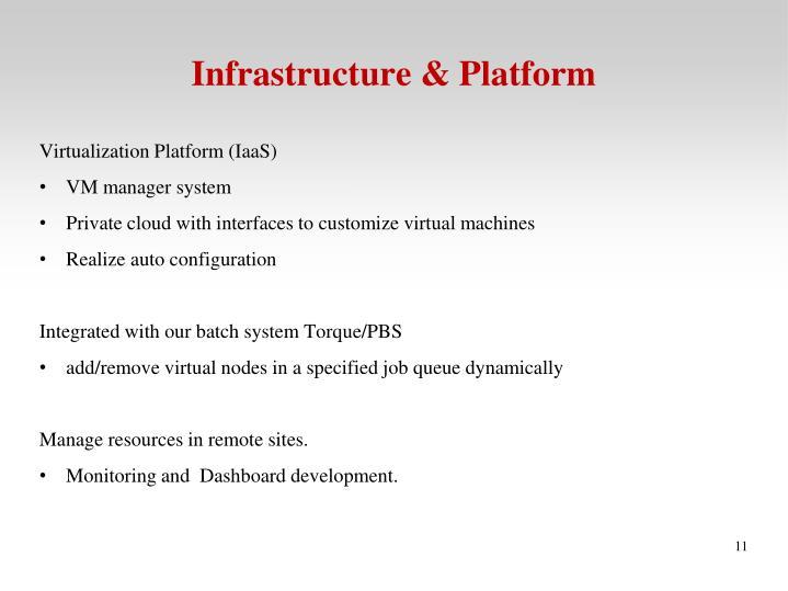 Infrastructure & Platform