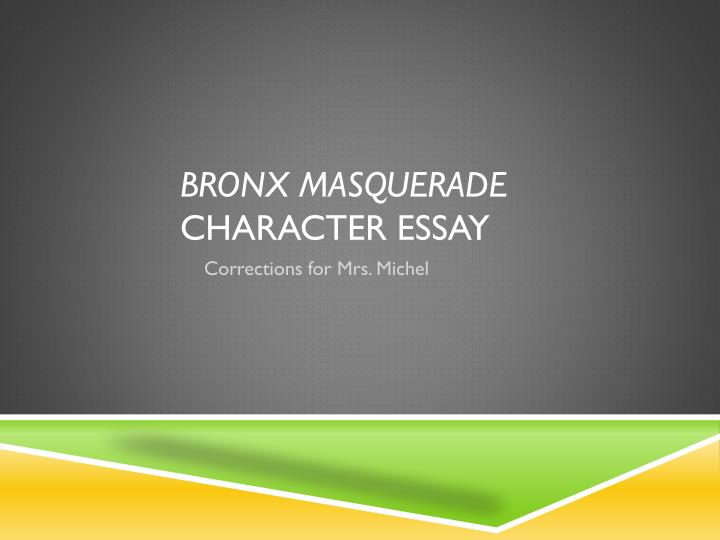 character analysis powerpoint